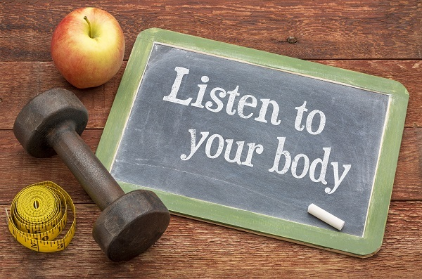Listening to our body