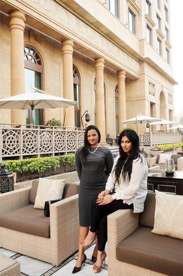 Sisters Aishwarya and Amruda credit grandad Captain Nair for their passion for hospitality.