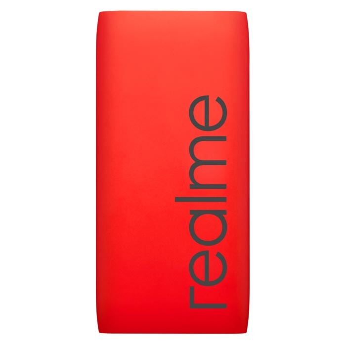 ​Packed with a 10,000mAh lithium-polymer battery, Realme power bank​ has a standard USB Type-A port along with a Type-C port​.