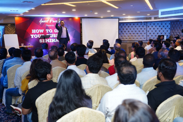 ​Parekh's seminar caters to the need and demands of today's entrepreneur. ​
